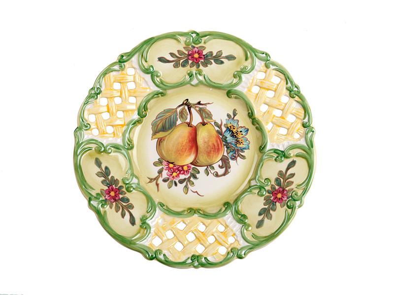 Декоративная тарелка Груши 25 см 59-549