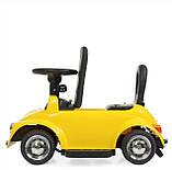 Електромобіль з батьківською ручкою Volkswagen Beetle 618-6, фото 10