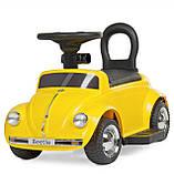 Електромобіль з батьківською ручкою Volkswagen Beetle 618-6, фото 6