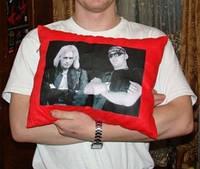 Фото на подушке на заказ