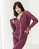 Женская  пижама с длинным рукавом  Nicoletta, фото 10