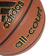 Баскетбольный мяч adidas All Court Basketball размер 5, фото 2