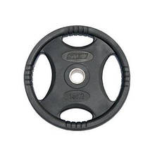 Диск Stein Rubber Black Plate 15 кг