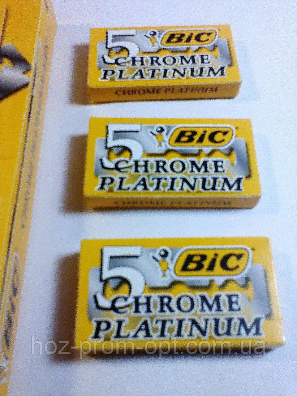 Лезвия BIC Бик, для бритвы, 5шт/уп. Китай.