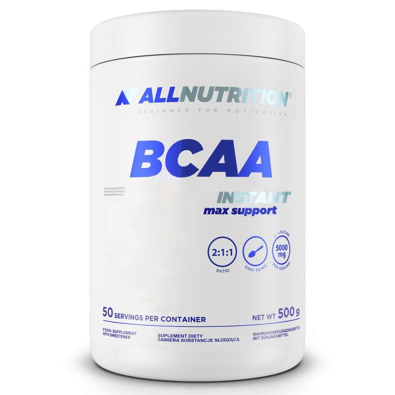BCAA AllNutrition BCAA Max Support Instant, 500 грамм Лимон