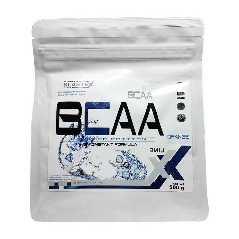 BCAA Blastex Xline BCAA, 500 грамм Лайм