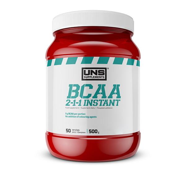 BCAA UNS BCAA 2-1-1 Instant, 500 грамм Апельсин