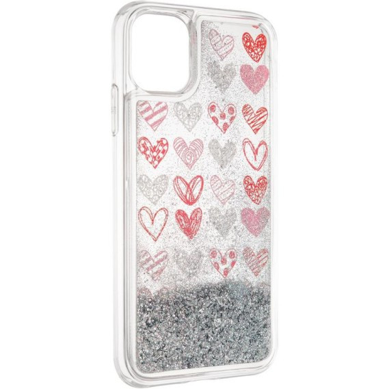 Чехол Aqua Case для Apple iPhone 11 Hearts