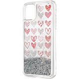 Чехол Aqua Case для Apple iPhone 11 Hearts, фото 3