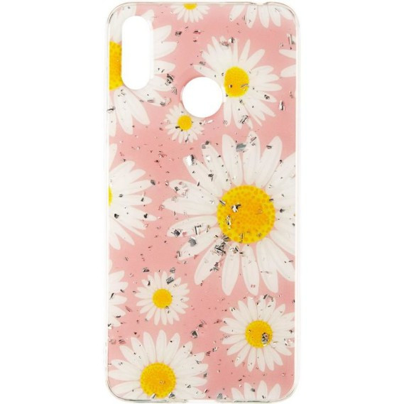 Чехол Deep Shine Flowers Case для Xiaomi Redmi 7 Chamomile