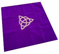 Скатерть для гадания из бархата, фиолетовая, фото 1