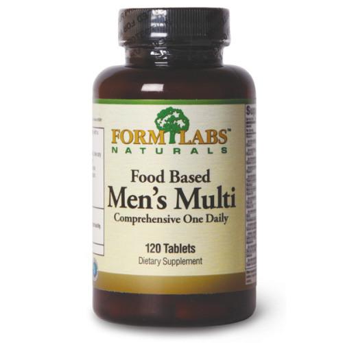 Витамины и минералы Form Labs Naturals Food Based Mens Multi, 120 таблеток