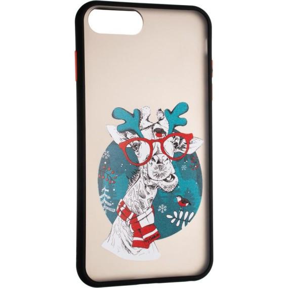 Чехол Gelius Print Case для Apple iPhone 7 Plus/8 Plus Black (6)