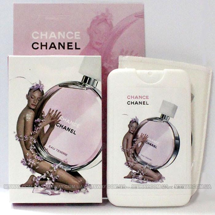 (50ml) Chanel - Chance Eau Tendre 50ml Woman (компактная парфюмерия в чехле)