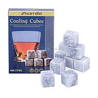 Камни для виски Kamille охладительные кубики KM-7792