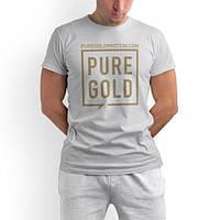 Одежда Футболка Pure Gold Protein, белая L