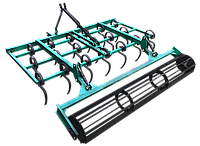 Культиватор КН - 1,6П s пружинный для минитрактора навесной (мини-трактора)