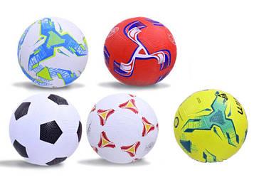 Мяч футбольный ТТ17030 №5 резина микс 410г