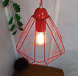 Подвесной светильник на 1-лампу CLASSIC/SP-R E27 красный, фото 6