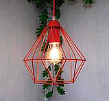 Подвесной светильник на 1-лампу CLASSIC/SP-R E27 красный, фото 7