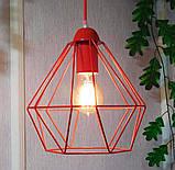 Подвесной светильник на 1-лампу CLASSIC/SP-R E27 красный, фото 8