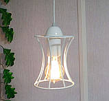 Подвесной светильник на 2-лампы SANDBOX/SP-2W E27 белый, фото 4