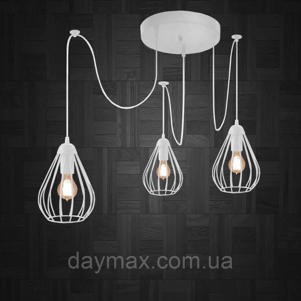Подвесная люстра на 3-лампы FANTASY/SP-3W E27 белый