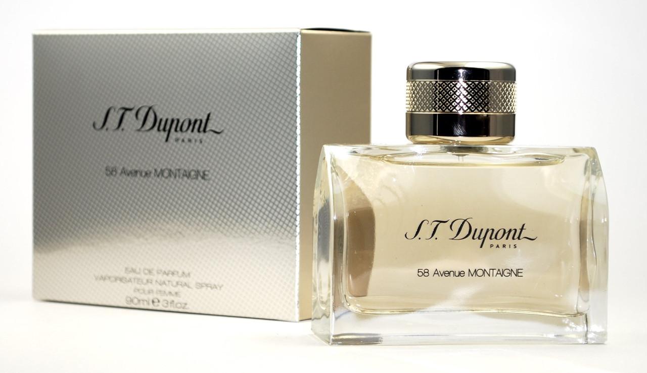 S.T. Dupont 58 Avenue Montaigne pour femme 100 ml Женская парфюмерия ...