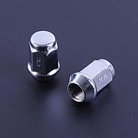 Гайка колесная М12х1,25х35 мм хром конус закрытый с выступом под ключ 19 (в упаковке 20 шт) F 307