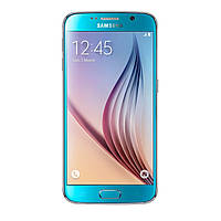Samsung G920F Galaxy S6 32GB Blue topaz 3мес., фото 1