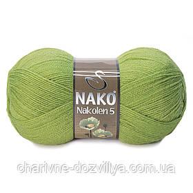 Пряжа для ручного и машинного вязания NAKO Nakolen 5