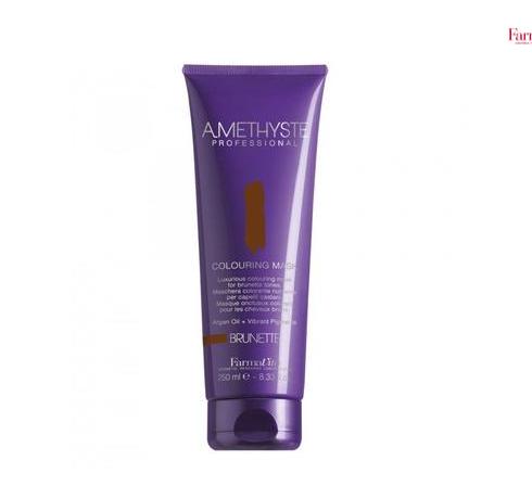 Красящая маска для коричневых оттенков Amethyste brunette mask, FarmaVita, 250 мл