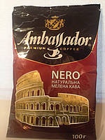 Кофе молотый Ambassador NERO,  75 г