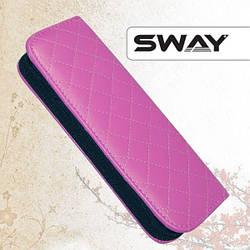 Sway. Чехол для одних ножниц из кожзаменителя. Розовый