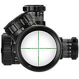 Прицел оптический Barska GX2 10-40x50 SF (IR Mil-Dot R/G), фото 4