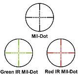 Прицел оптический Barska GX2 10-40x50 SF (IR Mil-Dot R/G), фото 5