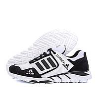 Мужские кожаные кроссовки Adidas Terrex White (реплика), фото 1