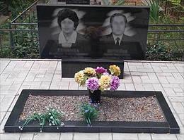 Двойной памятник с одним цветником (Габбро Буки) 1