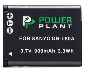 Акумулятор PowerPlant Sanyo DB-L80, D-Li88