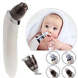 Детский назальный аспиратор электро Infant nasal absorber, соплеотсос электрический, фото 6