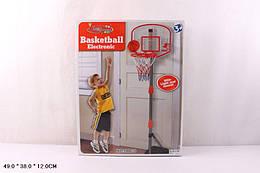 Баскетбольный набор стойка, табло со светом, мяч с насосом в комплекте, BB111