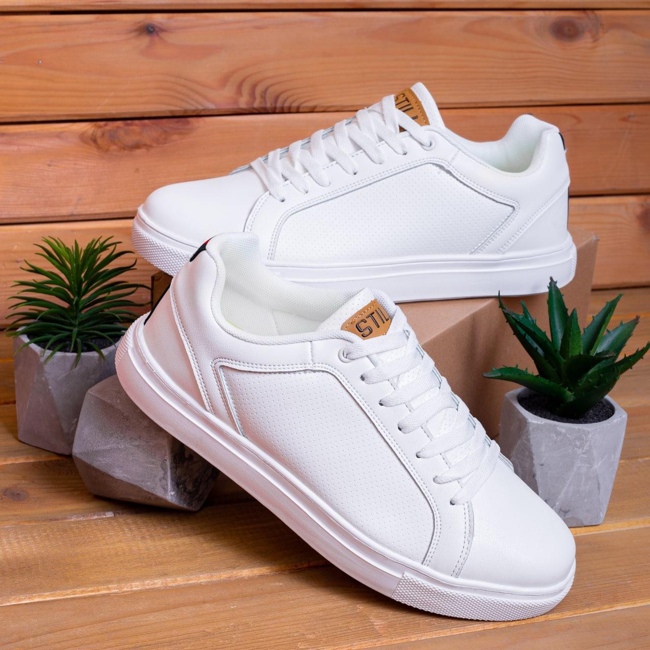 Чоловічі кросівки Стіллі Форс Гучи (білі)