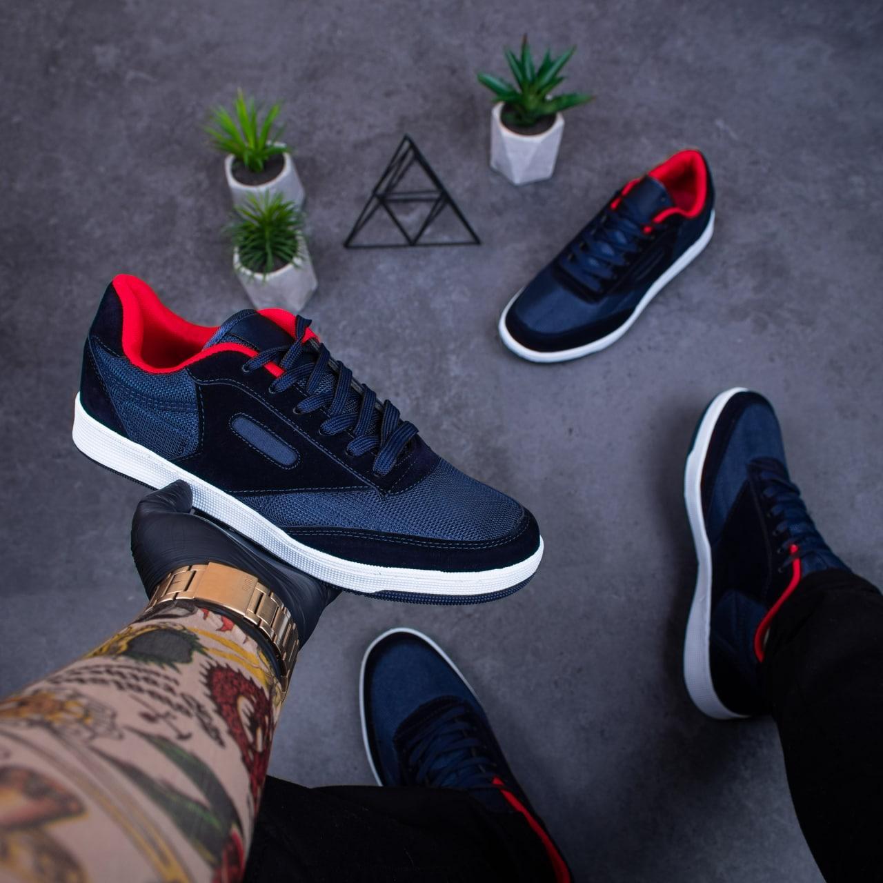 Мужские кроссовки Форест Бута (синие)