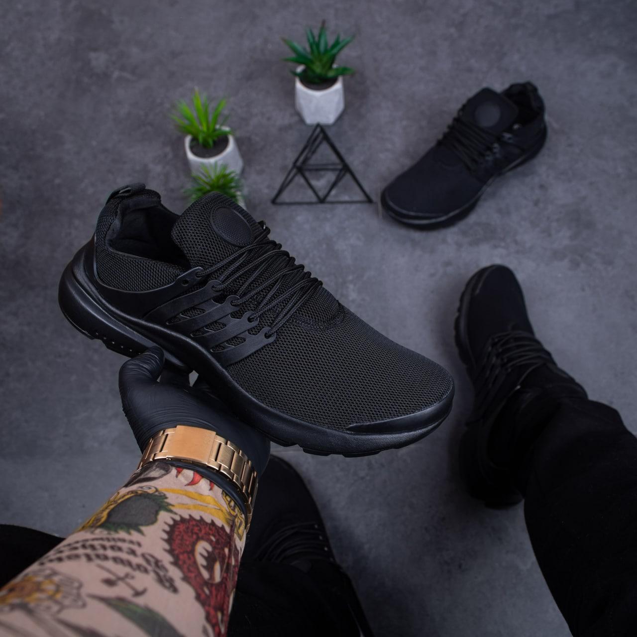 Чоловічі кросівки Арт Престо (дарк)