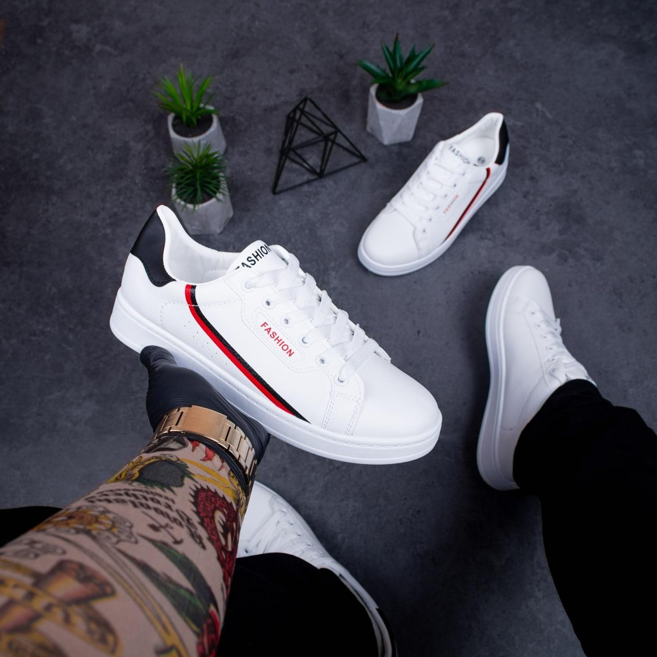 Мужские кроссовки Хорн ЛБ (белые)