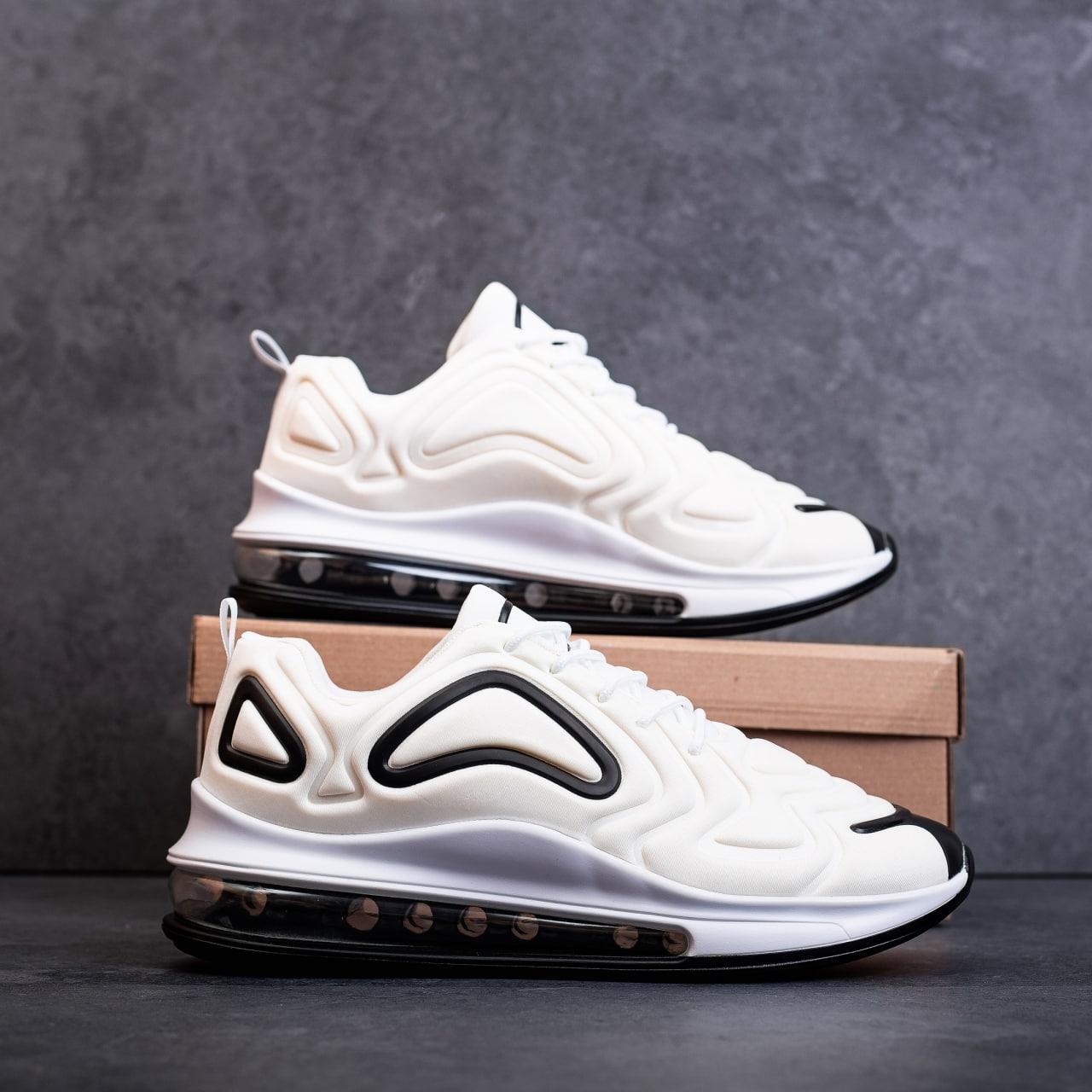 Мужские кроссовки Крос 720 (белые)