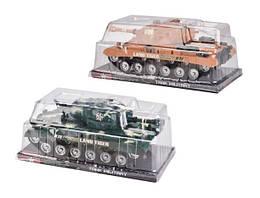 Военная техника на батарейках, 2 цвета, свет, звук, M26A-1