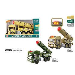 Военная техника на батарейках, 2 вида, свет, звук, RJ3372B