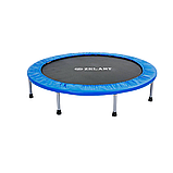 Батут для джампінгу фітнесу Міні ZELART Складний Діаметр 127 см Чорний-синій (C-2696), фото 2