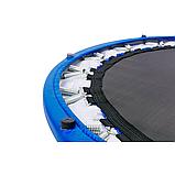 Батут для джампінгу фітнесу Міні ZELART Складний Діаметр 127 см Чорний-синій (C-2696), фото 9